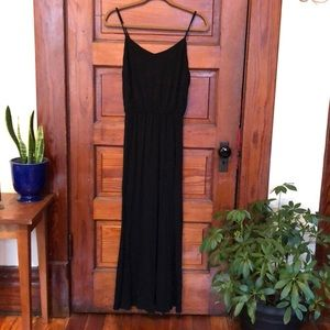 Gap Maxi Dress/Black